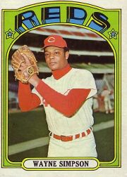 1972 Topps Baseball Cards      762     Wayne Simpson